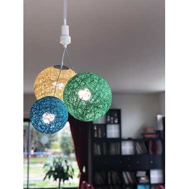 Guirled BORNEO SUSPENSION Suspension [NOUVEAU] Guirlande boule lumineuse