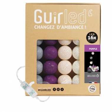 Guirled Purple Classique Guirlande Classique Guirlande boule lumineuse