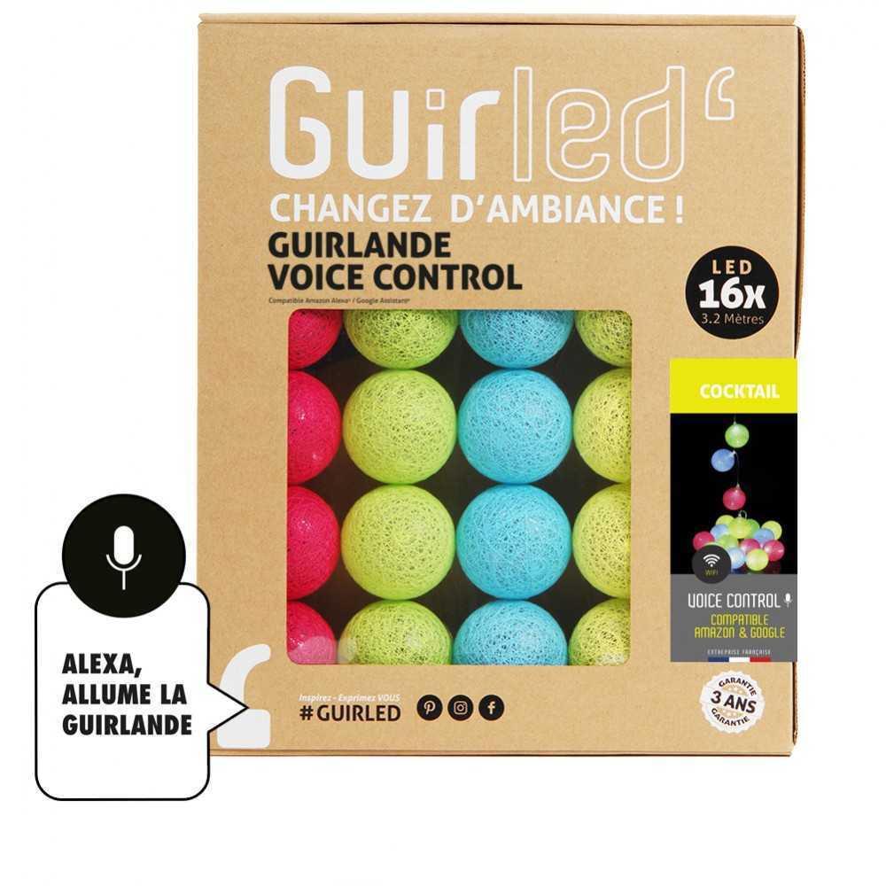 Guirled Guirlande Commande Vocale Cocktail Commande Vocale