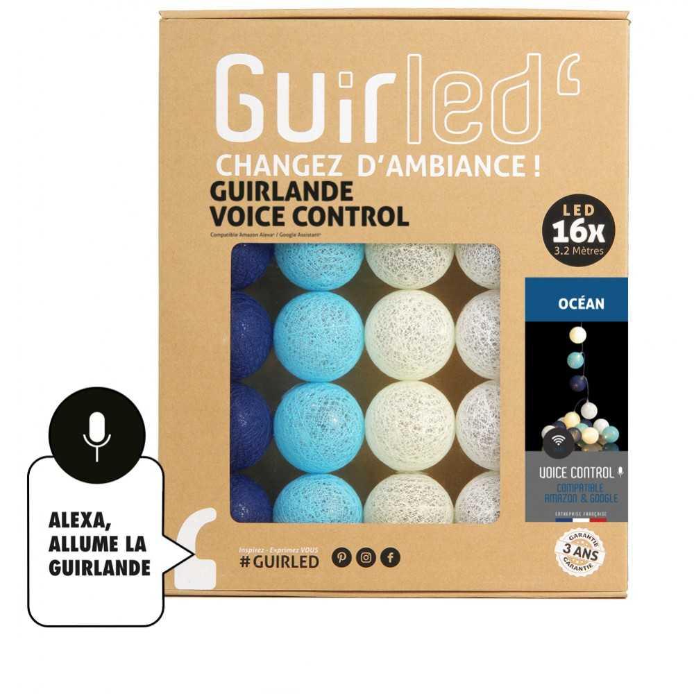 Guirled Guirlande Commande Vocale Océan Commande Vocale