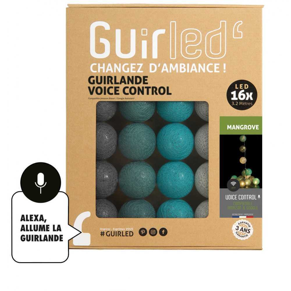 Guirled Guirlande Commande Vocale Mangrove Commande Vocale