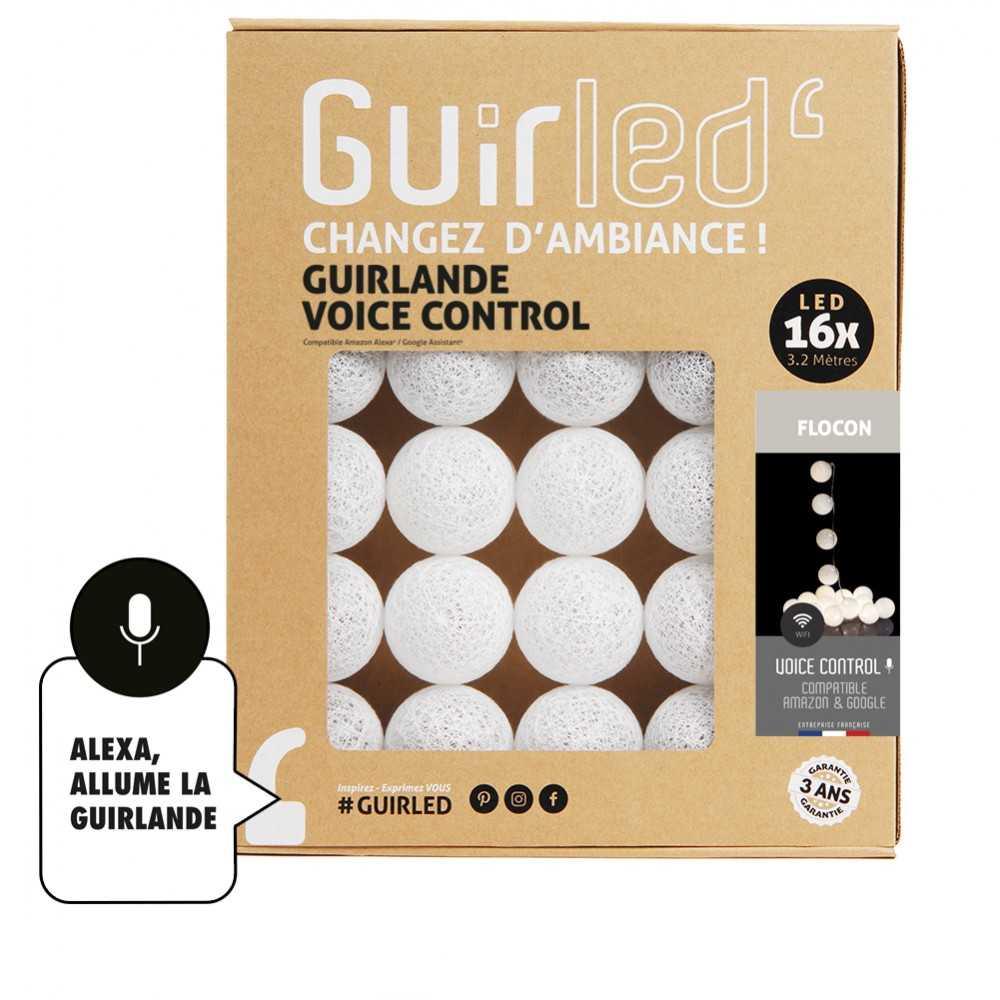 Guirled Guirlande Commande Vocale Flocon Commande Vocale