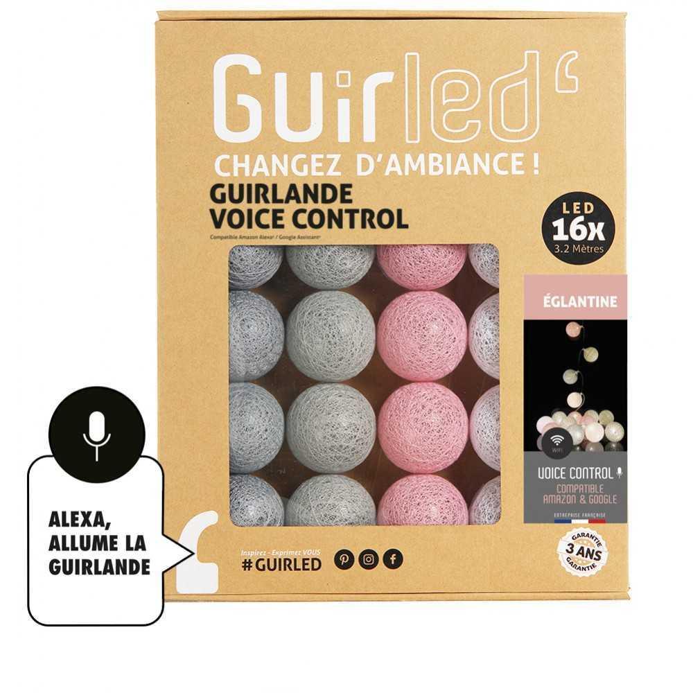 Guirled Guirlande Commande Vocale Églantine Commande Vocale